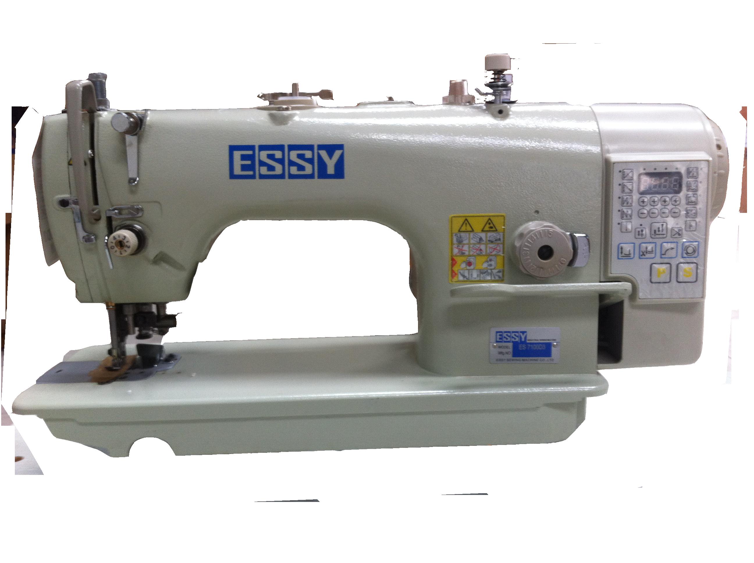 Máy 1 kim may xén, thắt nút ESSY ES7100-D3