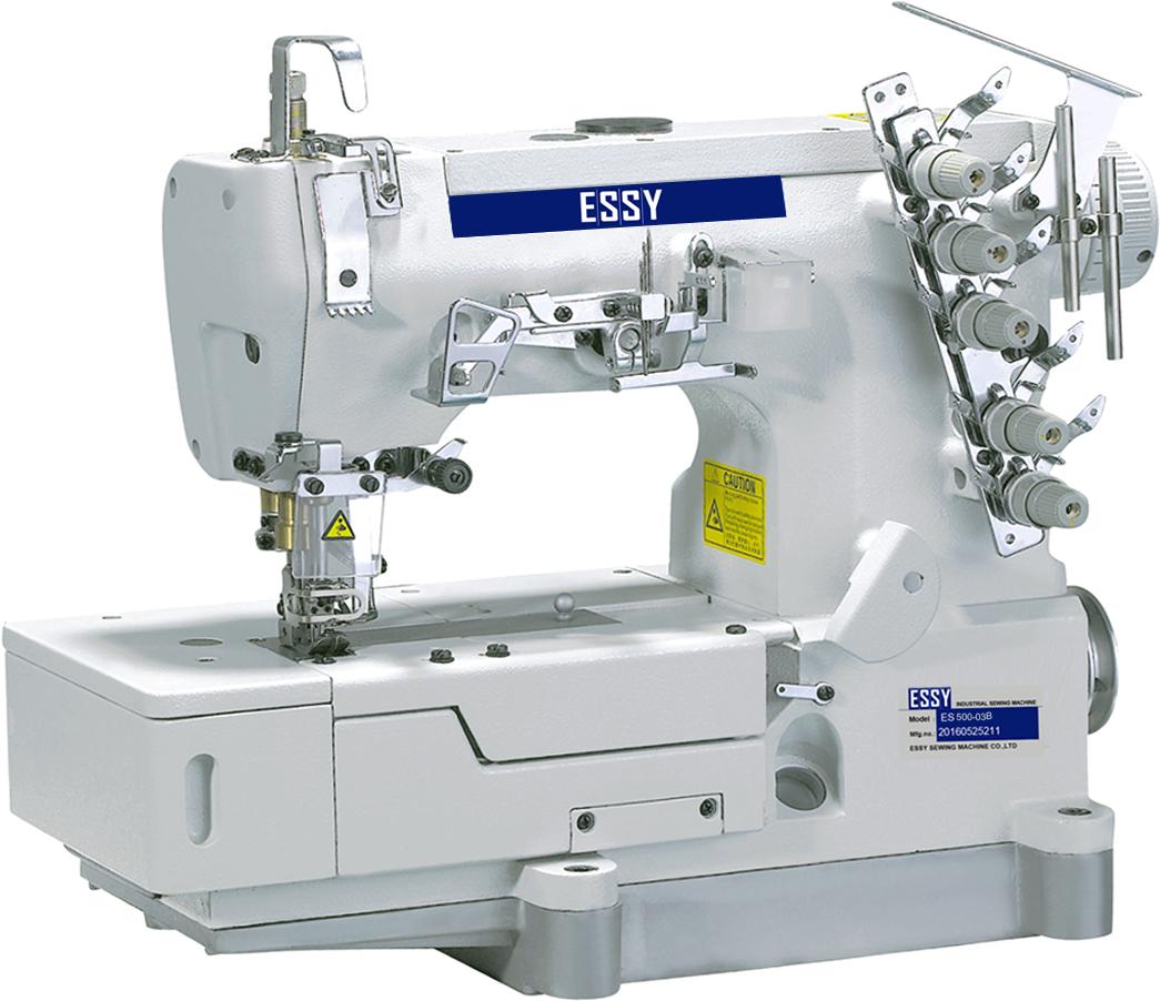 Máy chần đè đế bằng 3 kim 5 chỉ ESSY ES500-03B