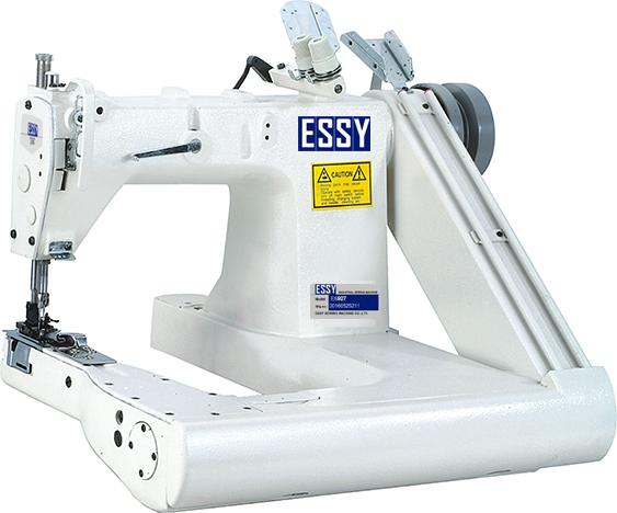 Máy cuốn ống 2 kim4 chỉ chân bàn đồng bộ ESSY ES92