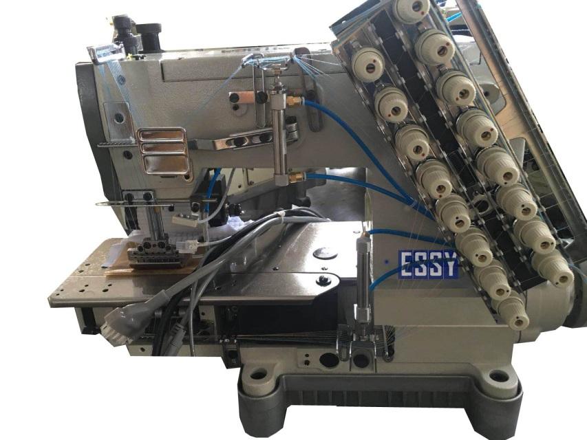 Máy Kansai 33 kim sử dụng chỉ chun ESSY1433PSSM